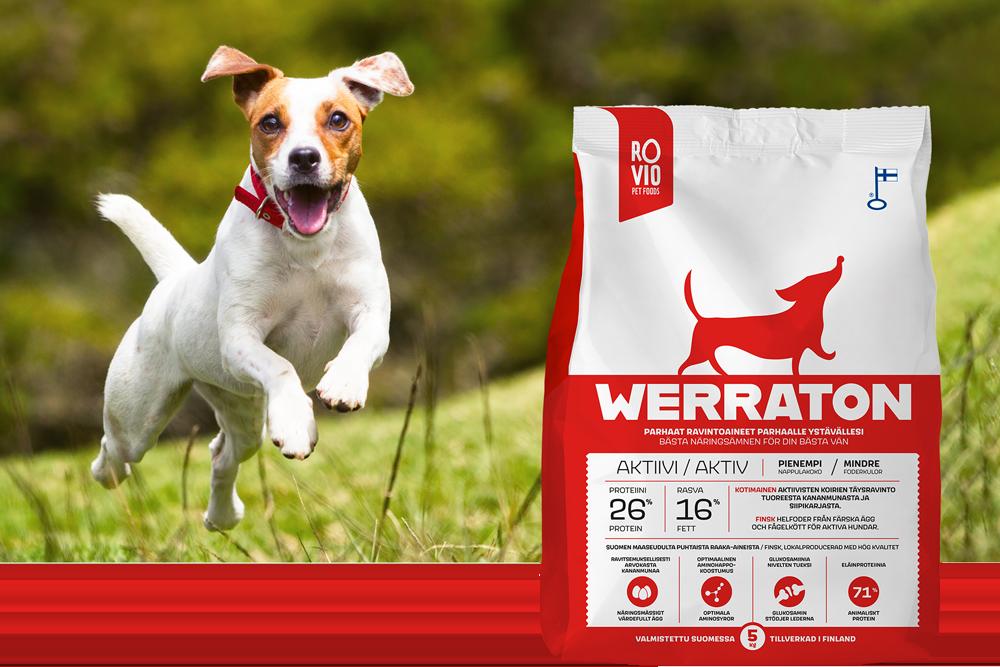 Werraton aktiivi koiranruoka